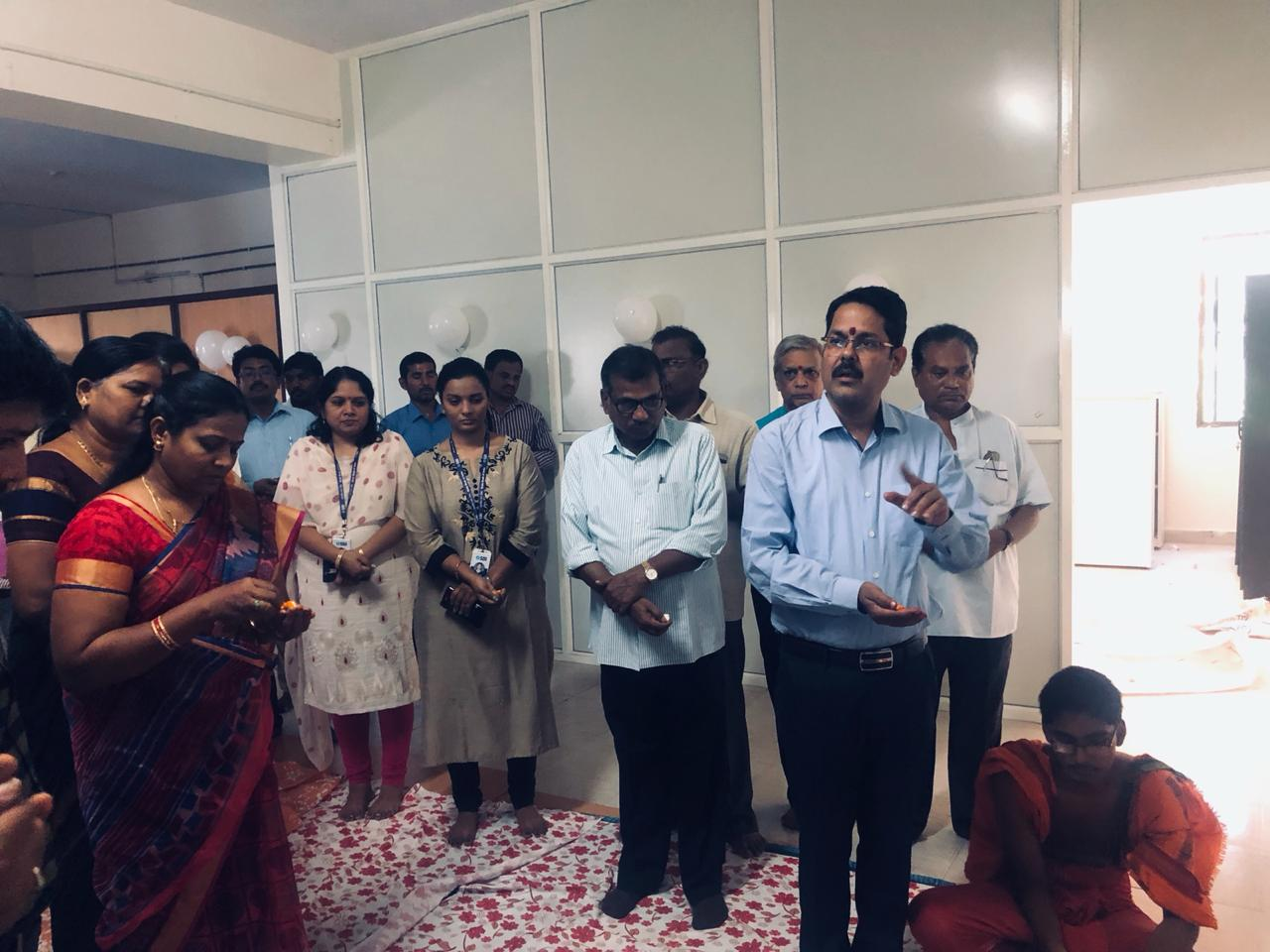 Inauguration of SRO in new building