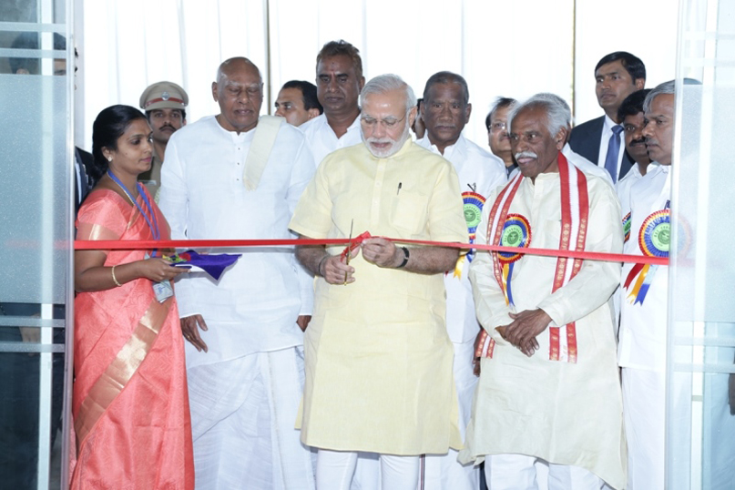 INAUGURATING THE NEWLY