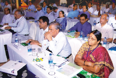 A view of the Participants at the conference.