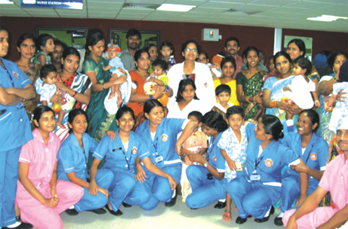 Paediatric Surgery unit of ESIC Super Speciality Hospital, Sanathnagar, Hyderabad.