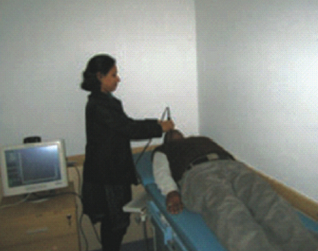 Ultrasound Bio Microscopy (UBM) at ESIC Model Hospital, Noida.