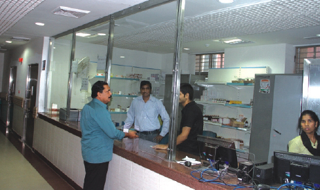 Medical Store Facility in an ESIC Model Hospital.