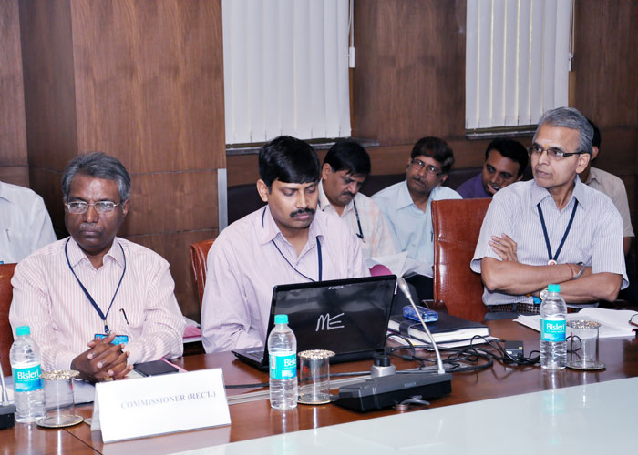 Senior Officers of ESIC taking part in the 192th meeting of SC of ESIC.