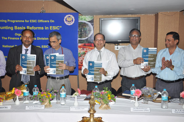 Accounting Basis Reforms in ESIC.