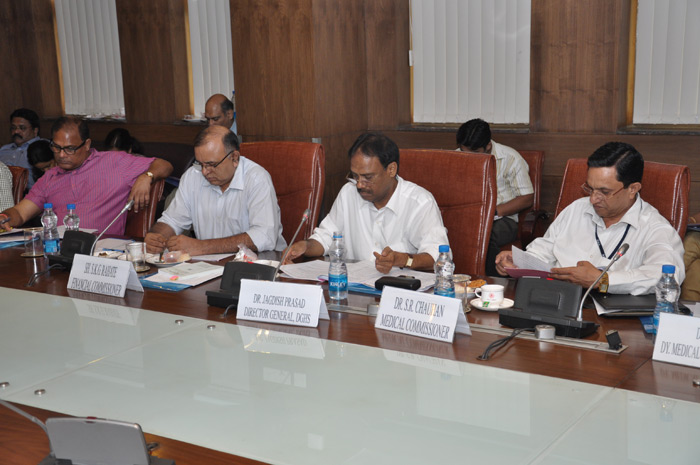 Senior Officers of ESIC taking part in MBC Meeting of ESIC.