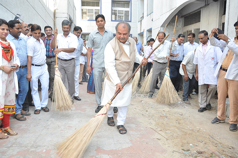 Launch of Swachh Bharat Abhiyaan